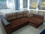 Фото Кутовий диван Орфей (довгий бік), коричневий Прямі дивани