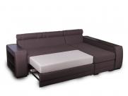 Фото2 Диван Байрон-М с оттоманкой (выкат в ситце, задняя стенка в основе) Угловые диваны