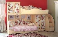 Фото3 Шкаф-гардероб Прованс ШГ 4-44(Д+З+Д) Прямые шкафы