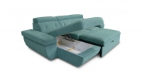 Фото4 Угловой диван Давос с оттоманкой Угловые диваны