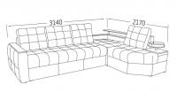 Фото4 Угловой диван тройной Хьюстон Угловые диваны