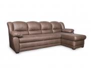 Фото1 Диван Юрмала с оттоманкой (выкат в ситце, задняя стенка в основе) Угловые диваны