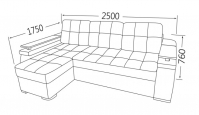 Фото8 Угловой диван Кардинал (длинный бок) Угловые диваны
