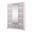 Фото1 Шкаф OLIVIA 3d2s с зеркалом Прямые шкафы