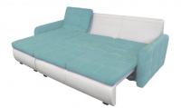 Фото2 Угловой диван Орландо мини с оттоманкой и подлокотниками Угловые диваны