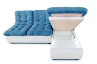 Фото2 Угловой диван Орландо мини с оттоманкой Угловые диваны