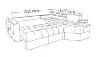 Фото7 Угловой диван двойной Хьюстон Угловые диваны