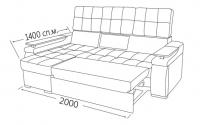 Фото9 Угловой диван Кардинал (длинный бок) Угловые диваны
