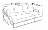 Фото8 Угловой диван Прага (длинный бок) Угловые диваны