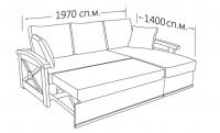 Фото8 Угловой диван Женева (длинный бок) Угловые диваны