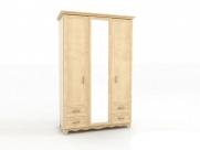 Фото1 Шкаф-гардероб Прованс ШГ 4-44(Д+З+Д) Прямые шкафы