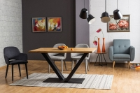 Фото2 Стол Vector 150*90 дуб Столы кухонные