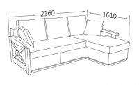Фото7 Угловой диван Женева (длинный бок) Угловые диваны
