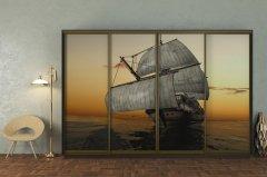 Фото Шкаф-купе четырехдверный (300 см) Шкафы