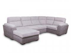 Фото Угловой диван Антарио с оттоманкой (дельфин, выкат в ситце) Угловые диваны