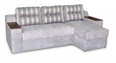 Фото Угловой диван Бостон с оттоманкой Прямые диваны