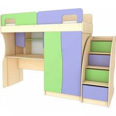 Фото Детский набор Меридиан №1 (КЧ+СР+НС+ЛК)-Т Шкафы в детскую