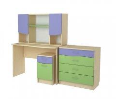Фото Детский набор Меридиан №6 (СР+НС+КБ+ТЯ)-Т Шкафы в детскую