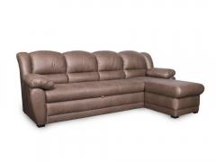 Фото Диван Юрмала с оттоманкой (выкат и задняя стенка в основе) Угловые диваны
