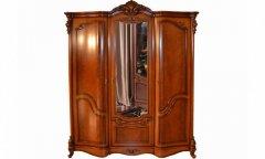 Фото Шкаф 3-х дверный Каролина Классика Шкафы в спальню