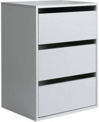 Фото Комод внутренний  KASHMIR 3S TWTK23 до шкафов KSMS124E3 и KSMS85 Спальни