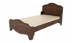 Фото Кровать полуторная 25мм Джентл К 8-525/2000х1200 Кровати в детскую