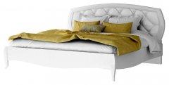 Фото Кровать Сан Ремо 1600 Белый Глянец Кровати