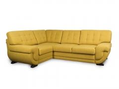 Фото Угловой диван Лацио (выкат в основе, задняя стенка флизелин) Угловые диваны
