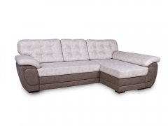 Фото Угловой диван Мартин с оттоманкой (выкат в ситце, задняя стенка флизелин) Угловые диваны