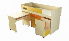 Фото Детский мебельный комплект Меридиан МК-Э Комоды в детскую