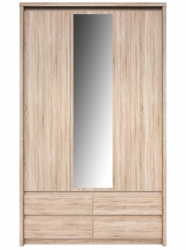 Фото Шкаф с зеркалом NORTON 3d4s Прямые шкафы