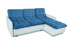 Фото Угловой диван Орландо мини с оттоманкой и подлокотниками Угловые диваны