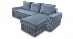 Фото Угловой диван Рим двойной с оттоманкой Прямые диваны