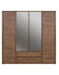 Фото Шкаф с зеркалом MONTI 4d2s Шкафы в спальню