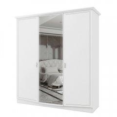 Фото Шкаф Сан Ремо Белый Глянец Шкафы в спальню