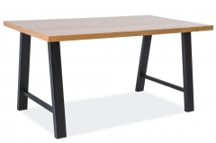 Фото Стол Abramo (150x90 дуб) Столы столовые