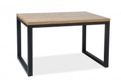Фото Стол Loras II 120*80 (дуб/черный) Столы кухонные