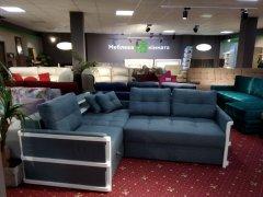 Фото Угловой диван Тина (синий) Прямые диваны