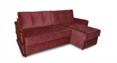 Фото Угловой диван Тина с оттоманкой Прямые диваны