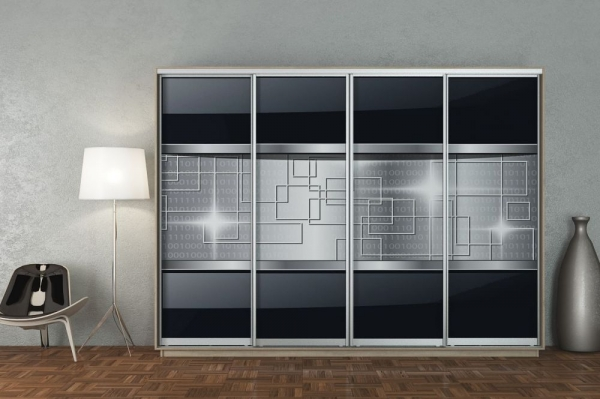 Шкаф-купе четырехдверный (360х240 см)