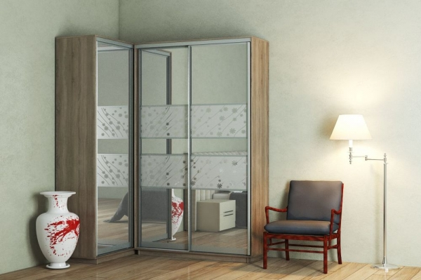 Приставной шкаф-купе (100х240 см)
