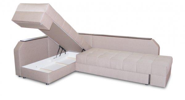 Угловой диван, кровать Аврора