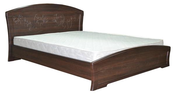 Кровать Эмилия с пружинным подъемным механизмом 1.8