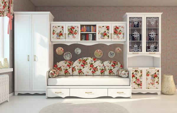 Шкаф-гардероб Прованс ШГ 4-44(Д+З+Д)