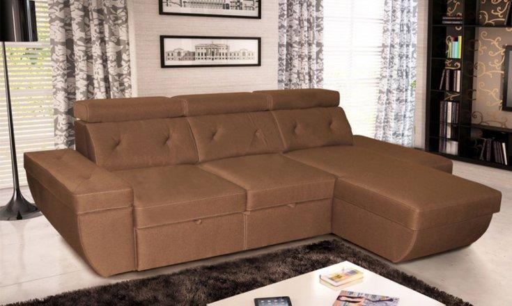 Кутовий диван колекція Давос з отоманкою