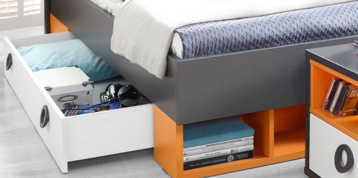 Кровать 0,9 COLORS LORL-091