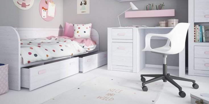 Кровать  LILO 0,9 LLOZ01