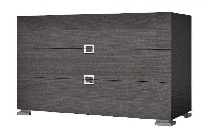 Комод Карат Black 130х53 см, чорний