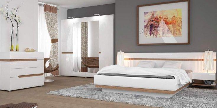 Кровать LINATE 1,6 с подъемным механизмом (typ 94)