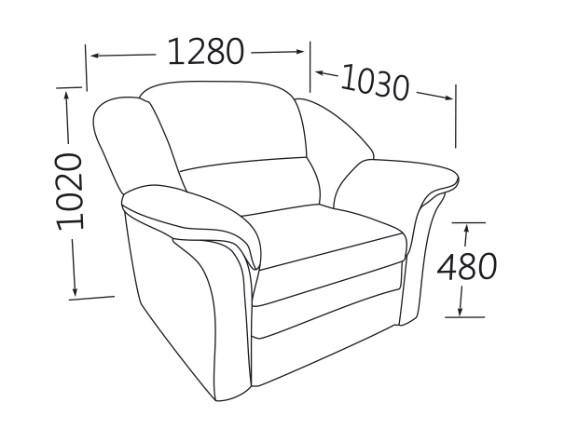 Кресло-кровать коллекция Моника